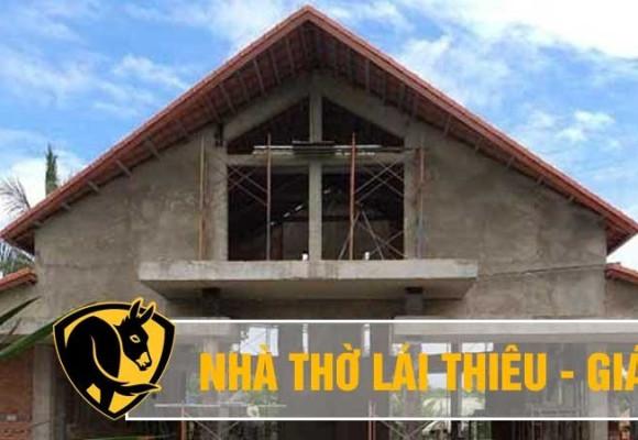 Lắp đặt quạt trần cánh lớn Essence tại nhà thờ Giáo xứ Phú Cường - Bình Dương