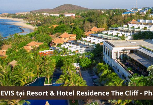 Quạt trần Nevis tại dự án Resort & Hotel Residence The Cliff - Phan Thiết