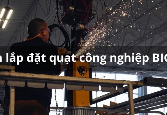 Hướng dẫn lắp đặt quạt trần công nghiệp HVLS đầy đủ và chi tiết nhất