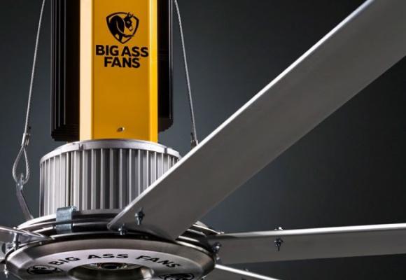 Những tính năng nổi bật của dòng quạt công nghiệp Powerfoil từ hãng Big Ass Fans, Hoa Kỳ