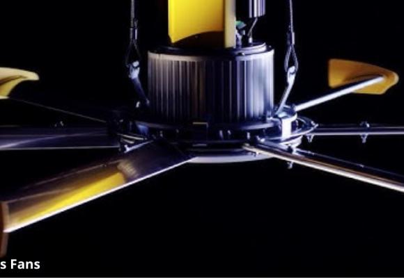 Powerfoil D - Dòng quạt công nghiệp nhà xưởng ưu việt từ hãng Big Ass Fans, Hoa Kỳ