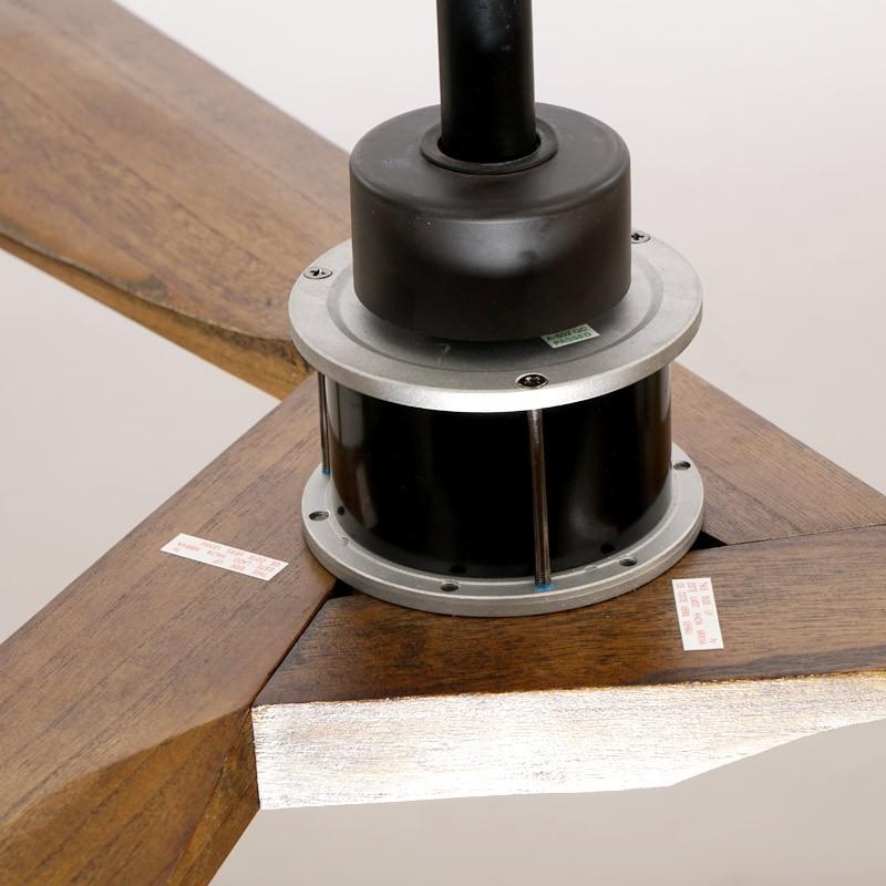Quạt trần cánh gỗ